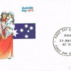 Sellos: AUSTRALIA, DÍA NACIONAL. PRIMER DIA 6-6-1979 (FAMILIA DE PIONEROS). Lote 122942923