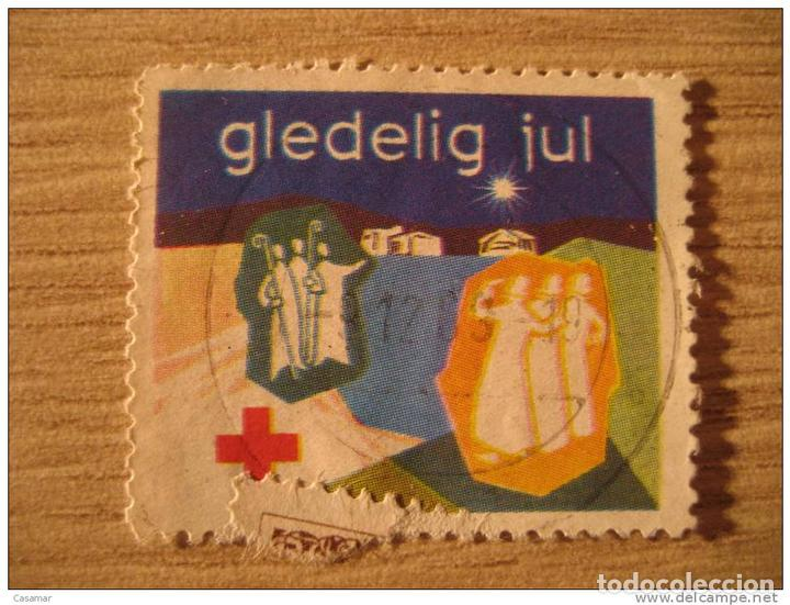 bb704bec 2 fotos GLEDELIG JUL RED CROSS CROIX ROUGE CRUZ ROJA MEDICINE MEDECINE  MEDICINA POSTER S (Sellos ...