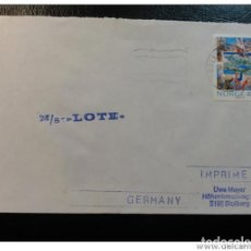 Sellos: SHIP MAIL COVER MS M/S LOTE 1991 NORWAY. Lote 123809130