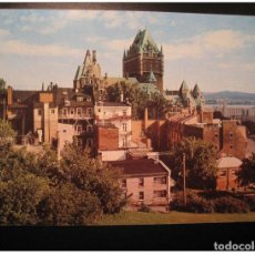 Sellos: FRONTENAC CASTLE CHATEAU QUEBEC POSTAL STATIONERY CARD CANADA. Lote 123856222