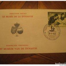 Sellos: BRUXELLES 1963 DYNASTIE MUSEUM RED CROSS CROIX ROUGE CRUZ ROJA HEALTH SANTE MEDI. Lote 123990454