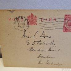 Sellos: TARJETA POSTAL INGLESA 1925. Lote 128358552
