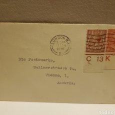 Sellos: CARTA CIRCULADA GUERRA MUNDIAL 1936. Lote 128495631