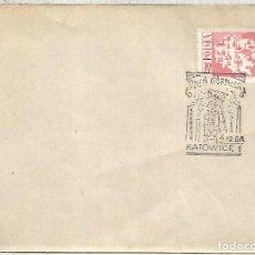 Selos: POLONIA KATOWICE MAT 1968 MINERIA MINERAL MINNING. Lote 128919163