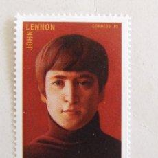 Francobolli: SELLO JOHN LENNON DE NICARAGUA BEATLES 2.00. Lote 134289774