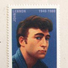 Francobolli: SELLO JOHN LENNON DE PALAU BEATLES 32C. Lote 134289810