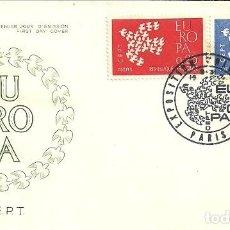 Sellos: SELLO DE PRIMER DÍA - PREMIER JOUR D'EMISSION - EUROPA - STRASBOURG - 1960. Lote 135363614