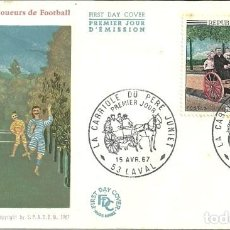 Sellos: SELLO DE PRIMER DÍA - PREMIER JOUR D'EMISSION - HONORÉ DAUMIER - 1966. Lote 135365898