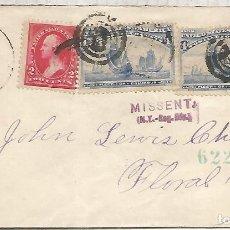 Selos: ESTADOS UNIDOS USA 1895 COLON COLUMBUS CARABELAS . Lote 139854726