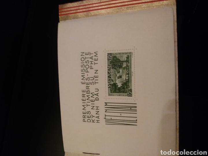 Sellos: Libreto: Primera edicion de sellos postales del Vietnam/ 1951 - Foto 3 - 140425004