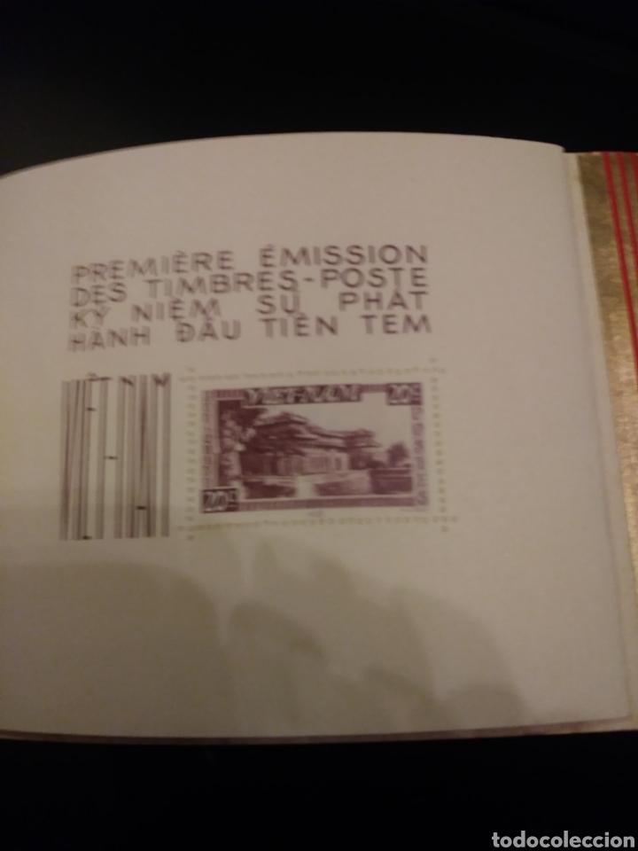 Sellos: Libreto: Primera edicion de sellos postales del Vietnam/ 1951 - Foto 4 - 140425004