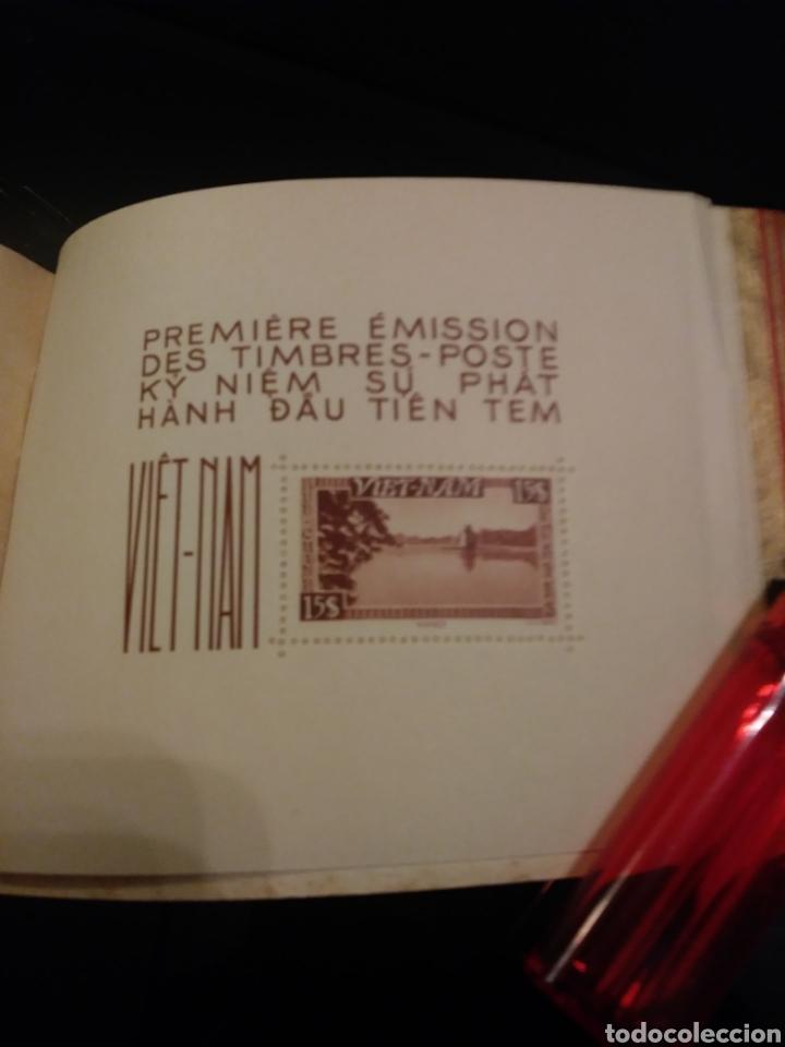 Sellos: Libreto: Primera edicion de sellos postales del Vietnam/ 1951 - Foto 7 - 140425004