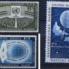 Sellos: ONU NACIONES UNIDAS NEW YORK AÑO 1956-57 .........NU-32. Lote 143367214