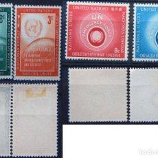 Sellos: ONU NACIONES UNIDAS NEW YORK AÑO 1957 .........NU-39. Lote 143371126