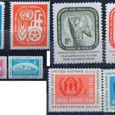 Sellos: ONU NACIONES UNIDAS NEW YORK AÑO 1959 .........NU-52. Lote 143404202
