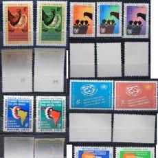 Sellos: ONU NACIONES UNIDAS NEW YORK AÑO 1961 .........NU-69. Lote 143410154