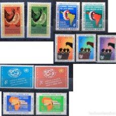 Sellos: ONU NACIONES UNIDAS NEW YORK AÑO 1961 .........NU-68. Lote 143410326
