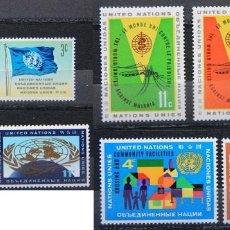 Sellos: ONU NACIONES UNIDAS NEW YORK AÑO 1962 .........NU-79. Lote 143411998