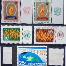 Sellos: ONU NACIONES UNIDAS NEW YORK AÑO 1963 .........NU-85. Lote 143450126