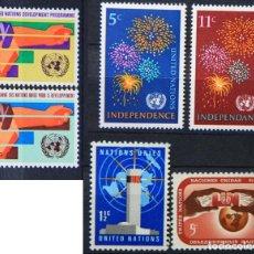 Sellos: ONU NACIONES UNIDAS NEW YORK AÑO 1967 .........NU-89. Lote 143541810