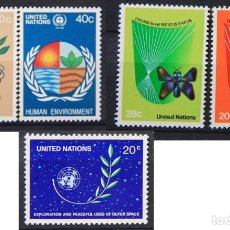 Sellos: ONU NACIONES UNIDAS NEW YORK AÑO 1982 .........NU-100. Lote 143801458