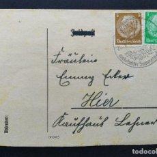 Sellos: SOBRE CIRCULADO ALEMANIA TERCER REICH 1942. Lote 147322422