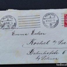 Sellos: SOBRE CIRCULADO ALEMANIA TERCER REICH 1941. Lote 147322558