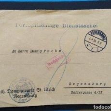 Sellos: SOBRE CIRCULADO ALEMANIA TERCER REICH 1936 CORREO OFICIAL. Lote 147322822
