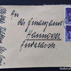 Sellos: SOBRE CIRCULADO POLONIA , ALEMANIA TERCER REICH 1944 , MI 75. Lote 147327290