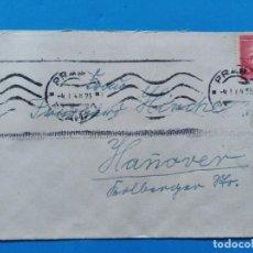 Sellos: SOBRE CIRCULADO BOHEMIA Y MORAVIA, ALEMANIA TERCER REICH 1944. Lote 147328402