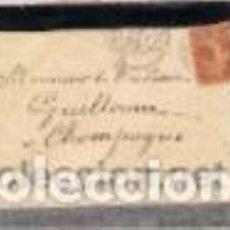 Sellos: SOBRE DE LUTO CIRCULADO A CAMPAGNE,AIN (FRANCIA) WL19-10-1905. Lote 147453638