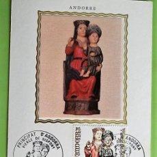 Sellos: ANDORRA FSA. TM 271 VIRGEN DE SISPONY. 1978.MATASELLO: 20 MAI 1978 PRINCIPAT D'ANDORRA. Lote 156792944