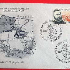 Sellos: ITALIA. DANIEL COMBONI. 1981. MATASELLO: 11.6.1981 UDINE. Lote 157018940
