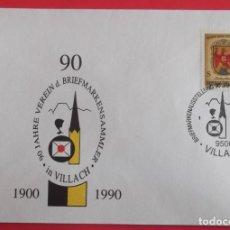 Sellos: AUSTRIA. SPD. 1358 ESCUDO: BURGENLAND. 1976. MATASELLO: 27.5.1990 VILLACH.. Lote 157018980