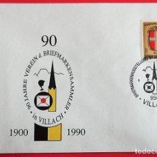 Sellos: AUSTRIA. SPD. 1359 ESCUDO: VIENA. 1976. MATASELLO: 27.5.1990 VILLACH.. Lote 157018992