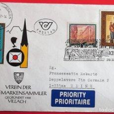Sellos: AUSTRIA. SPD. 2068 NAVIDAD: VIRGEN CON NIÑO - 1908 CONVENTO DE LA ORDEN TEUTÓNICA DE VIENA. 1997/199. Lote 157019024