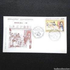 Sellos: (EGL) SOBRE PRIMER DIA DE CIRCULACIÓN - 1989. ANDORRA. Lote 171816155