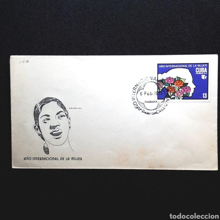 (EGL) SOBRE PRIMER DIA DE CIRCULACIÓN - 1975. CUBA (Sellos - Historia Postal - Sellos otros paises)
