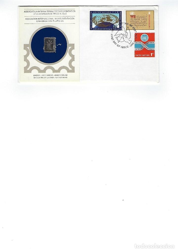 ONU (Sellos - Historia Postal - Sellos otros paises)
