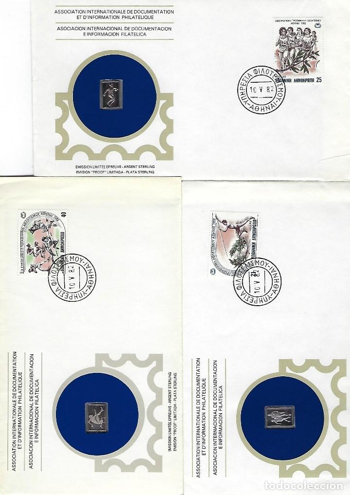 GRECIA (Sellos - Historia Postal - Sellos otros paises)