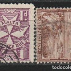 Sellos: LOTE I SELLOS MALTA. Lote 176839550