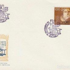 Selos: PORTUGAL, IV CENTENARIO DE OS LUSIADAS, PRIMER DIA DE 27-12-1972. Lote 180256156