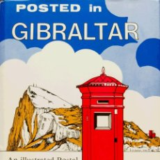 Sellos: GIBRALTAR, BIBLIOGRAFÍA. 1978. POSTED IN GIBRALTAR. W.HINE-HAYCOCK. PUBLISHED BY ROBSON LOWE LTD. L. Lote 183163465
