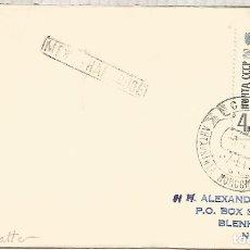 Sellos: UNION SOVIETICA CC CON MAT BASE ANTARTICA KOMSOMOLSKAYA 1964 ANTARCTIC STATION . Lote 183414177