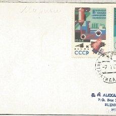 Sellos: UNION SOVIETICA CC CON MAT BASE ANTARTICA MIRNY 1967 ANTARCTIC STATION . Lote 183414310