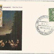 Sellos: ALEMANIA ST GEORGEN SDANB JORGE Y EL DRAGON MITOLOGIA. Lote 183415713