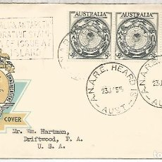 Sellos: AUSTRALIA CC 1955 MAT ANARE HEARD ISLAND ANTARTIDA ANTARCTICA . Lote 187335870