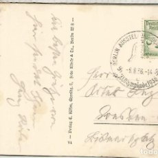 Sellos: ALEMANIA 3 REICH JUEGOS OLIMPICOS DE BERLIN 1936 MAT ASSUTELLUNG DEUTSCHLAND. Lote 187368763