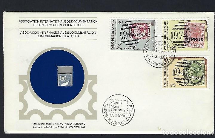 CHIPRE (Sellos - Historia Postal - Sellos otros paises)