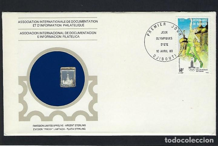REPÚBLICA DJIBOUTI (Sellos - Historia Postal - Sellos otros paises)